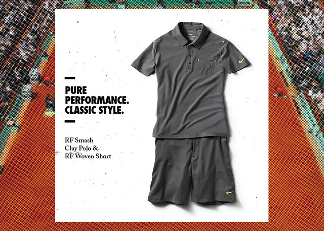 2012 French Open Roger Federer Nike outfit