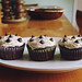 Vegan chocolate chip cookie dough cupcakes & cookie dough frosting