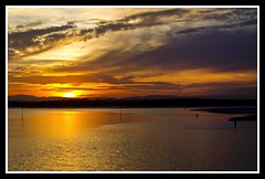 Sun setting over Hayes Inlet-1=