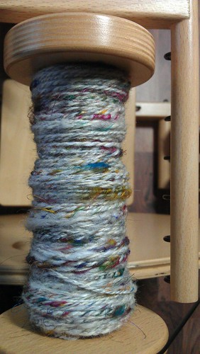 tweed yarn handspun 1 by Charl8