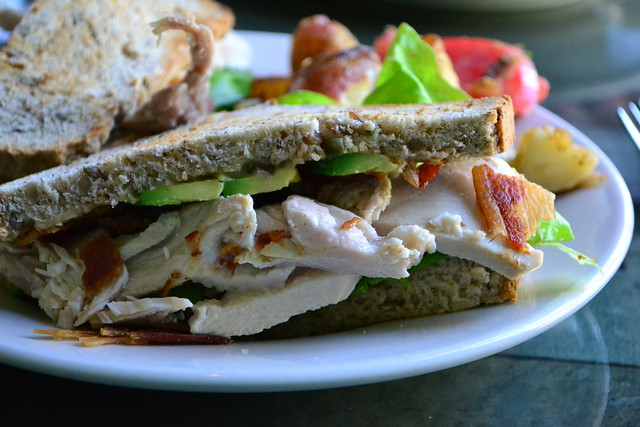 Turkey Avocado and Bacon Sandwich