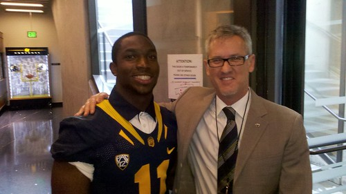 Jefferson Coombs and Nick Forbes at 2012 Cal Football Gala