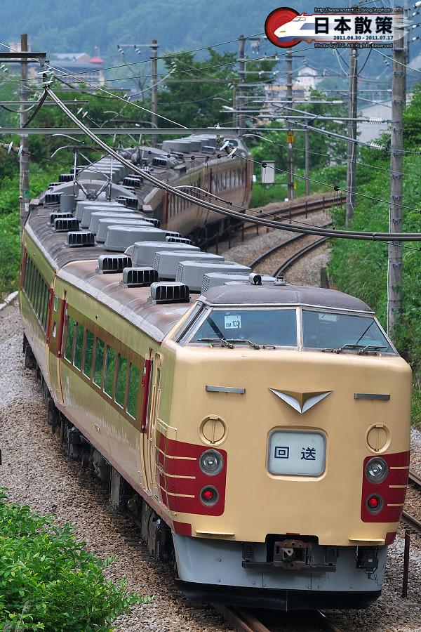 OM103這一側則是改造自原生183系