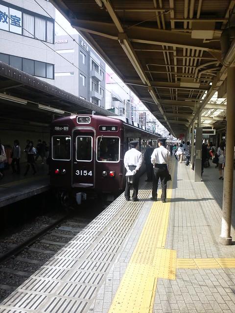 久しぶりに阪急今津線に乗って宝塚へ