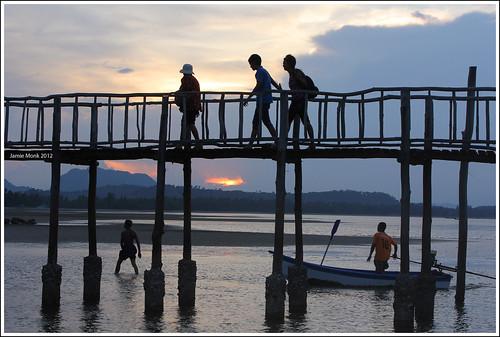Koh Pitak Pier