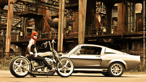 "Thunderbike 27"" iMac Widescreen Wallpaper // Mustang Elenaor 2550x1440"