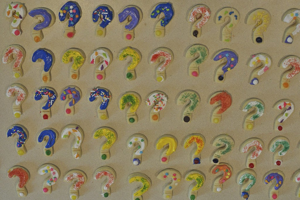 Question Mark Cookies 3