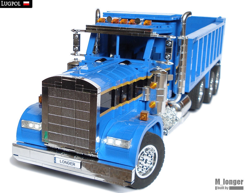 m longer 39 s lego kenworth w900 dump truck lego technic mindstorms model team eurobricks forums. Black Bedroom Furniture Sets. Home Design Ideas