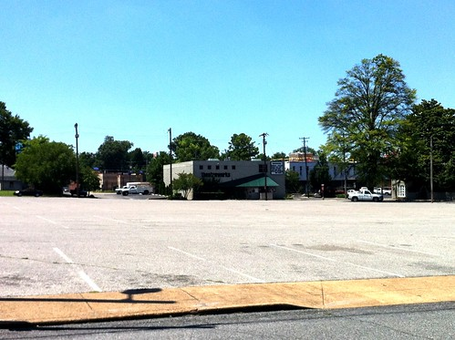 Future parking garage site, Overton Square, Memphis, Tenn.