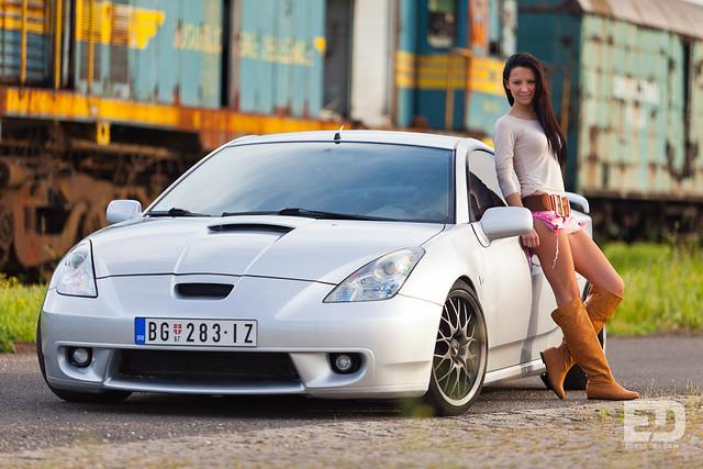 Anja & Toyota Celica