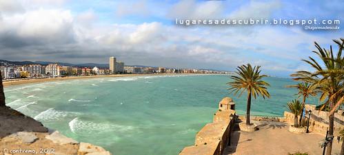 Playa de Peñíscola (Castellón, Comunidad Valenciana)