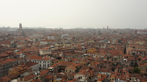 View of Venice from atop Campanile di San Marco