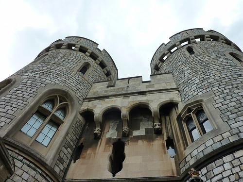 Gargoyles at Windsor Castle
