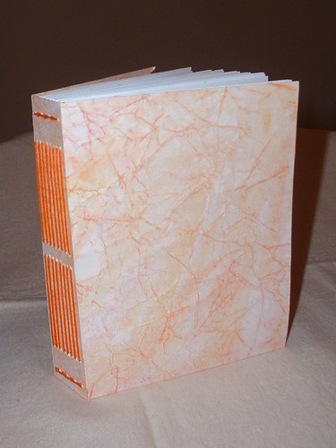 little orange handmade book 1