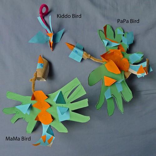 Birdies Puppet
