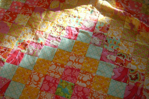 trip around the world - quilting