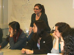 <p>The 2012 CWIT Bits and Bytes cohort visits for a lab tour and to hear about our research!</p>