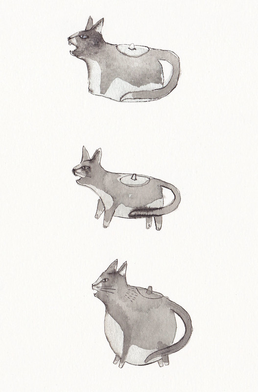 cat teapot designs