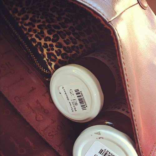 Everyone carries jam in their purse no?