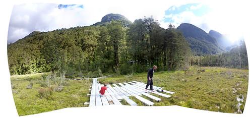 Upper Spey Hut, Dusky Track