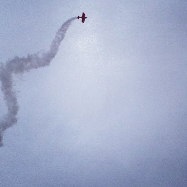 Apparently, air shows have flying planes. I always forget that part.