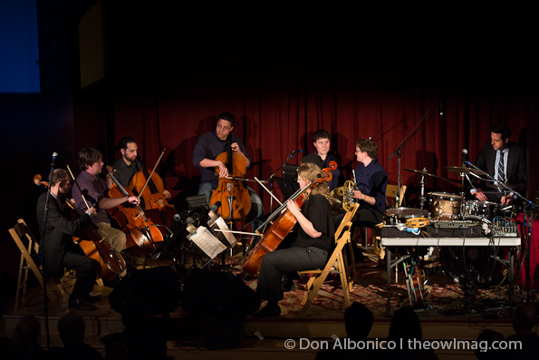 Portland Cello Project @ Swedish American Hall, SF 5/17/12