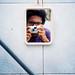 Me, Mirror & Mju II by zulkhairi kharuddin