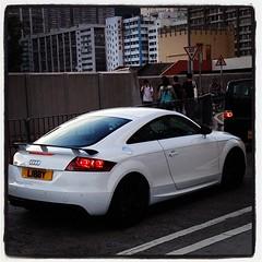 executive car(0.0), rim(0.0), automobile(1.0), automotive exterior(1.0), audi(1.0), wheel(1.0), vehicle(1.0), automotive design(1.0), audi tt(1.0), bumper(1.0), land vehicle(1.0), coupã©(1.0), sports car(1.0),