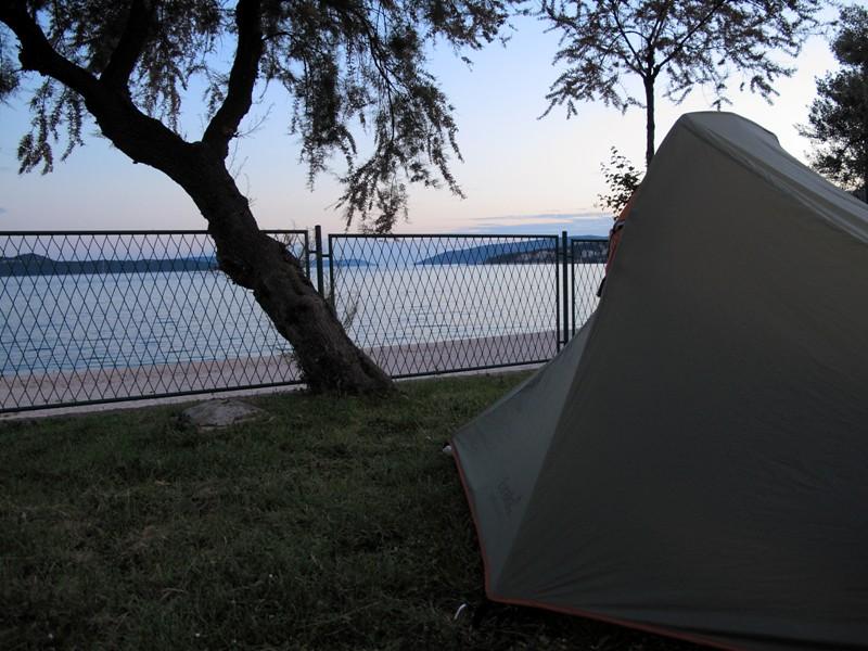 Camping au bord de la mer@Trogir