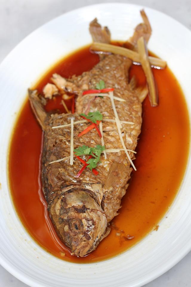 Pla Ta Tien Tom Kem (ปลาตะเพียนต้มเค็ม)