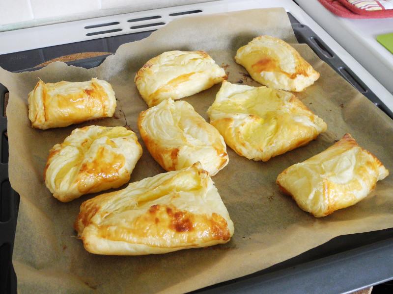 Frisch aus dem Ofen geholt
