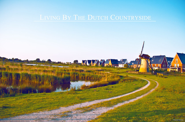 Living by the dutch countryside