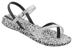 Sandal Premium III Fem (grey_black-white)
