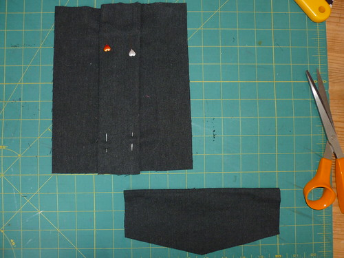 Making the pocket