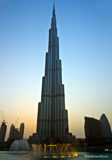 Burj Khalifa At Sunset