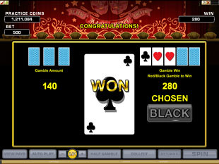 Magic Boxes Gamble Feature