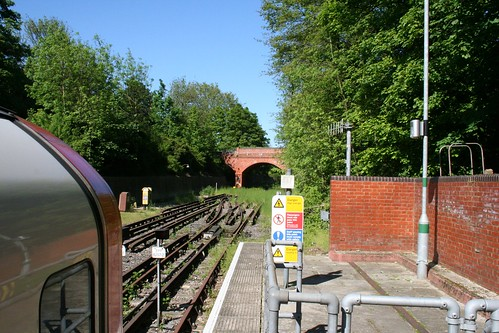 The end of the line at Epping