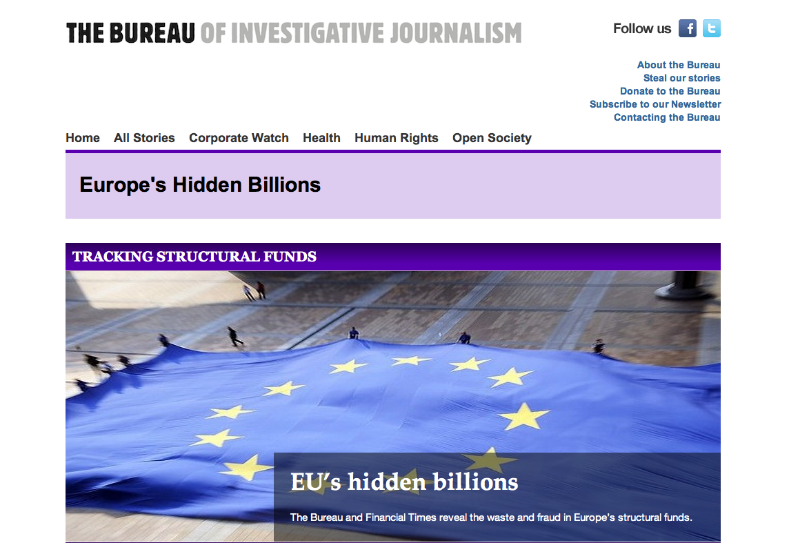 Europe's Missing Millions from the Bureau of Investigative Journalism