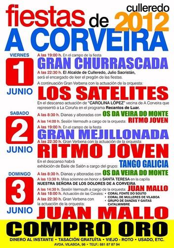 Culleredo 2012 - Festas da Corveira - cartel