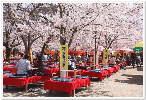 圓山公園宴會風