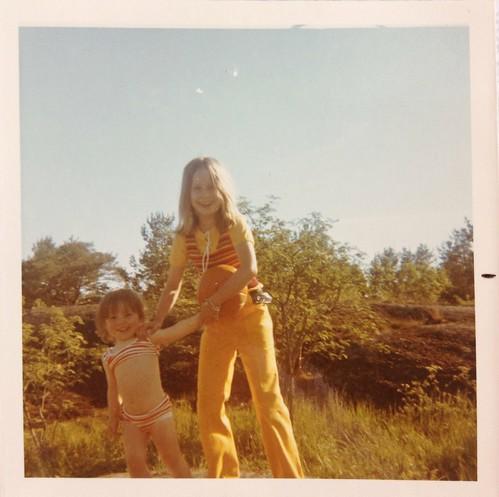 Jag och Anna i Öregrund 1971