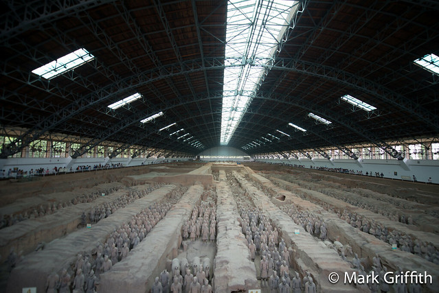 Terra Cotta Warriors - Pit 3