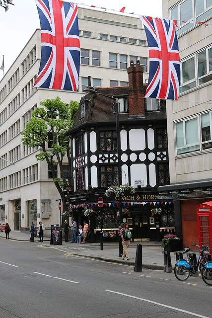 Jubilee in Mayfair - Coach & Horses pub
