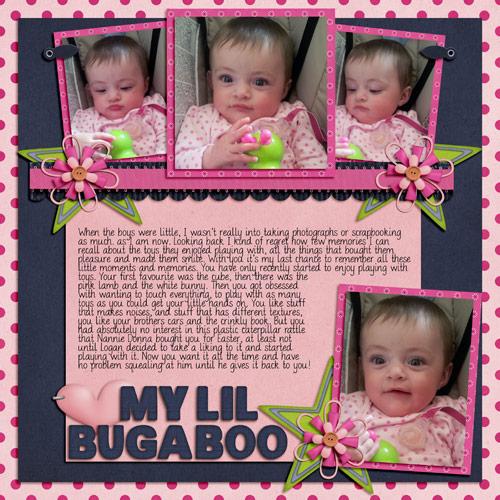 My Lil Bugaboo by Lukasmummy