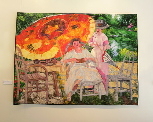 Lenore Crawford - The Garden Parasol, Fredrick Fesieke - 2008