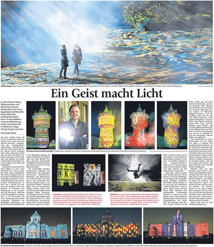 Presse: Münchner Merkur 08. Juni 2012
