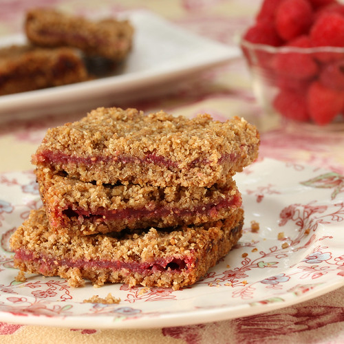 Recipe for Whole Grain Raspberry Breakfast Bars and Janice's Recent ...