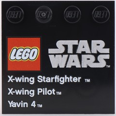 9677 X-Wing Starfighter and Yavin 4