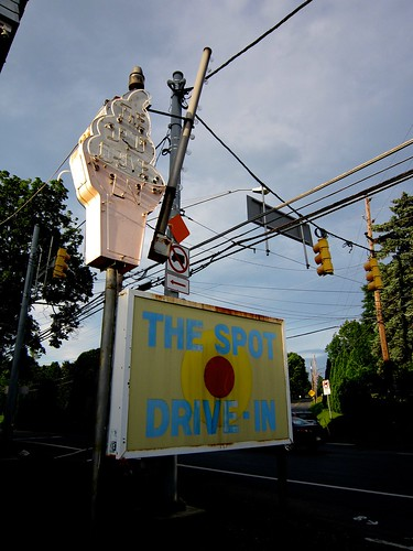 The Spot - Ice Cream Stand Sign
