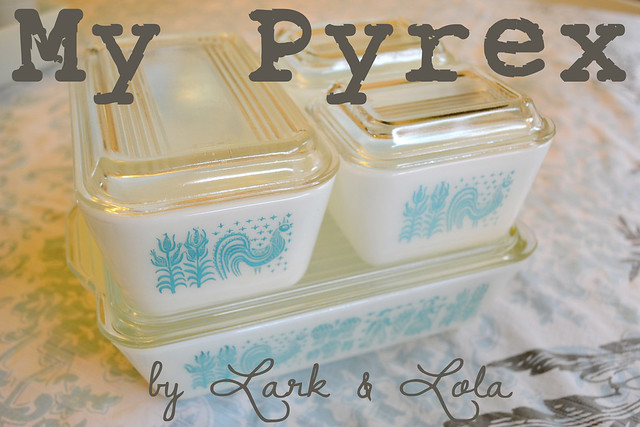 My Pyrex Collection Cover Photo